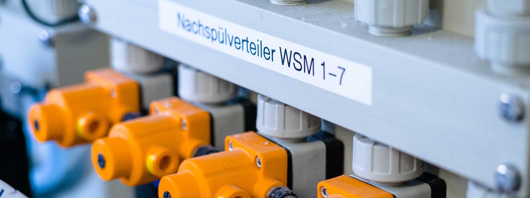 Wäscherei Röder wir investieren in modernste Technik